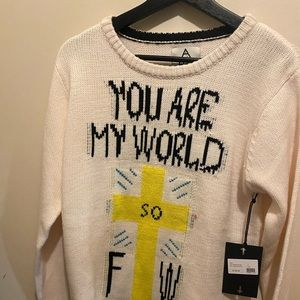UNIF YOU ATE MY WORLD SWEATER